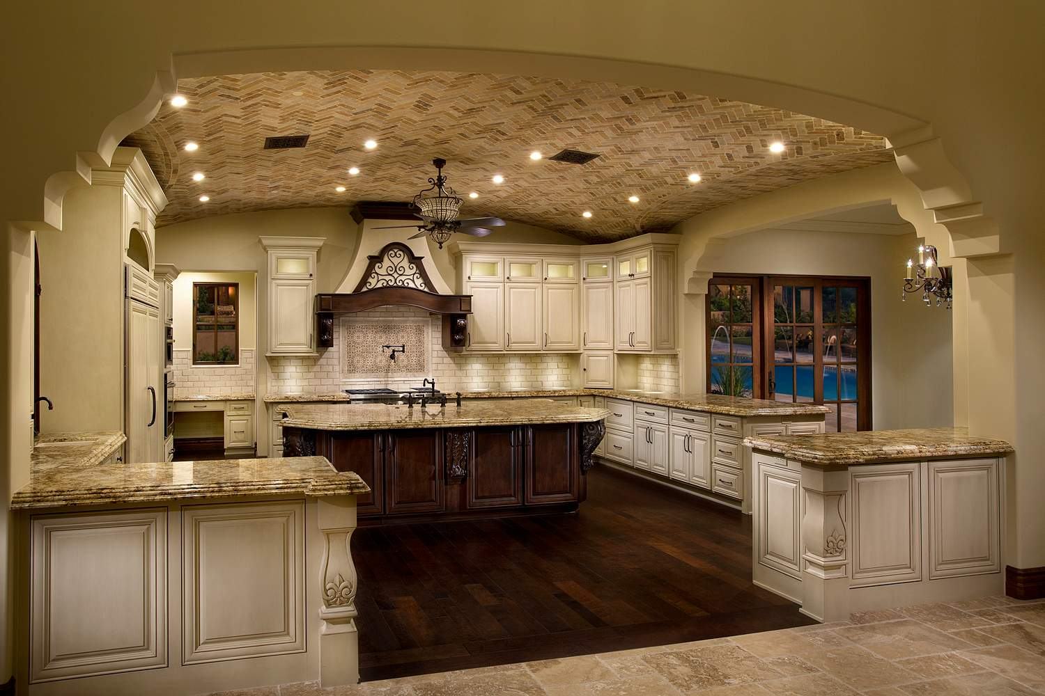 3 spanish colonial kitchen