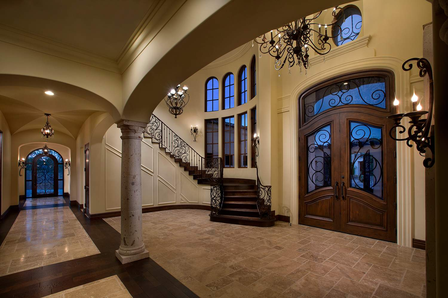 4 spanish colonial foyer