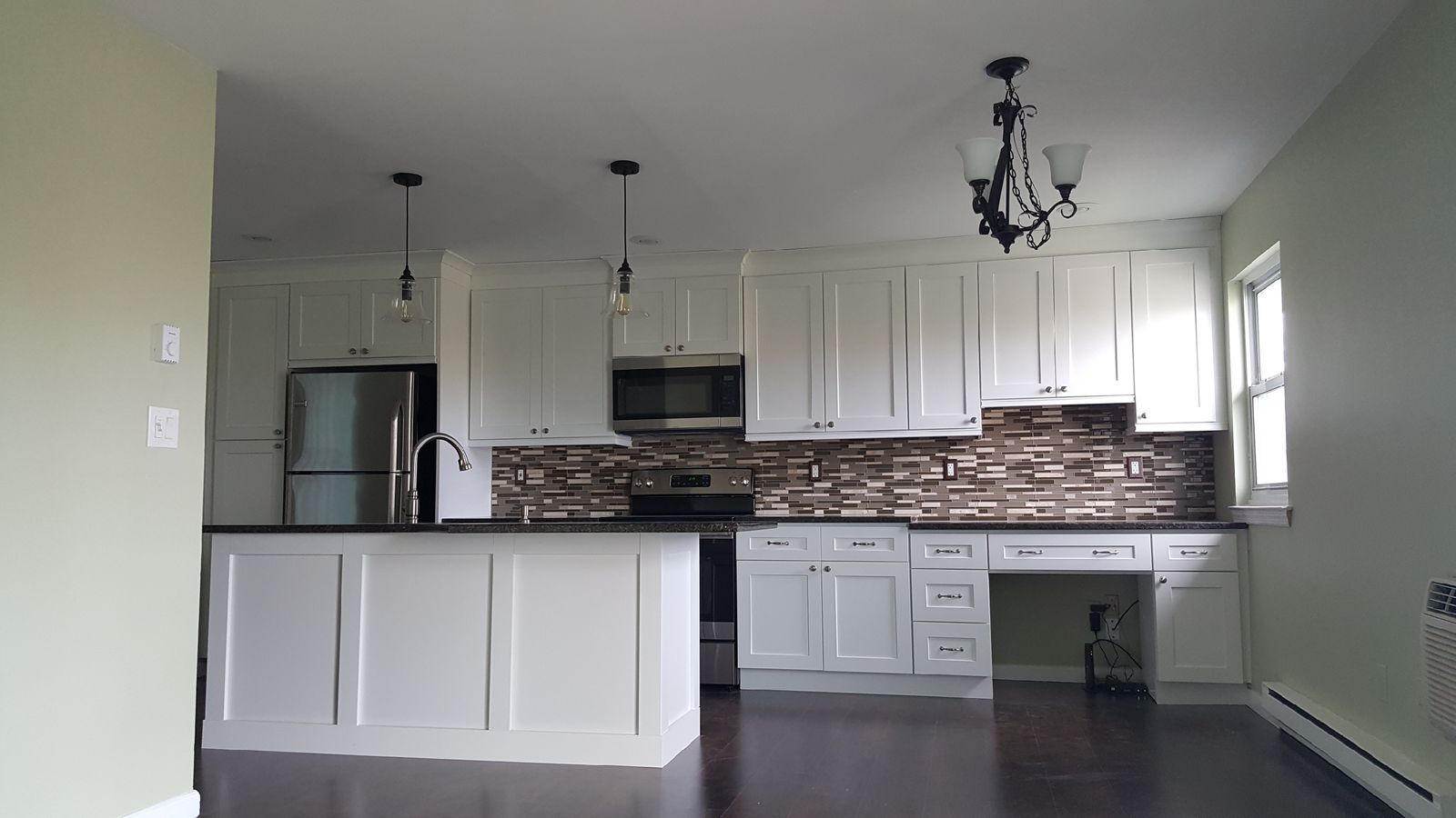 Apartment Kitchen Cabinet Installation