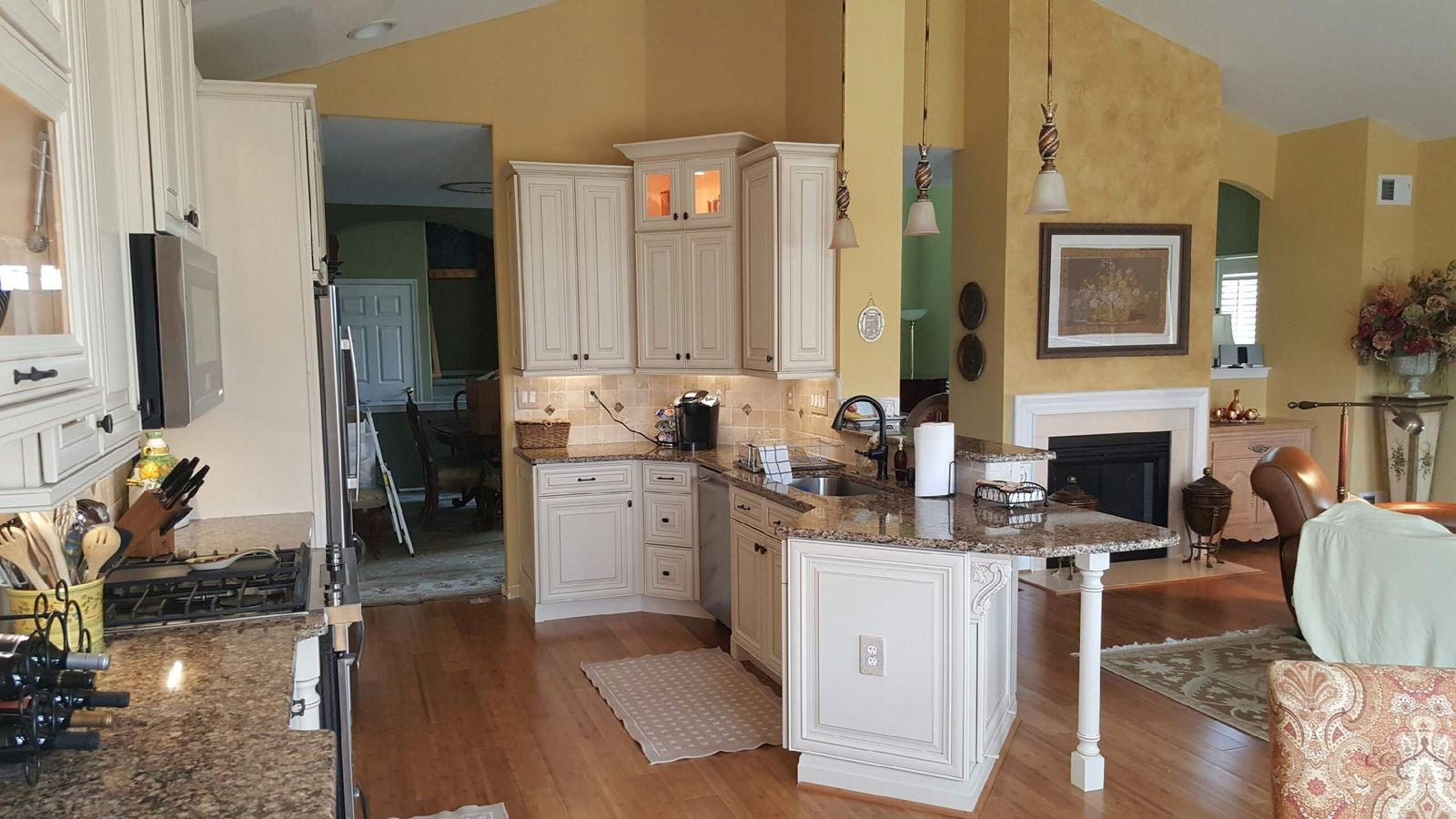 Kitchen Remodel Custom Cabinet Installation